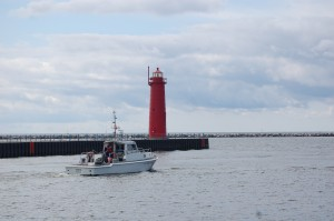 Muskegon South Lighthouse Michigan
