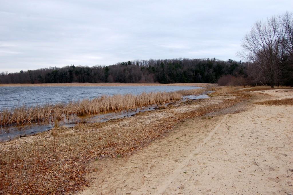 Muskegon State Park Snug harbor Shoreline