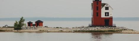 Round Island Lighthouse - Lake Huron