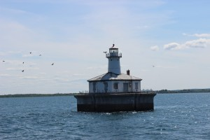 Fourteen Foot Shoal Light Birds Lake Huron