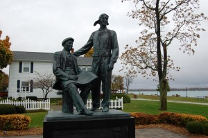 Gar Wood Chris Craft Statue Algonac