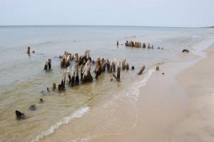 Kirk Park Lake Michigan Ruins