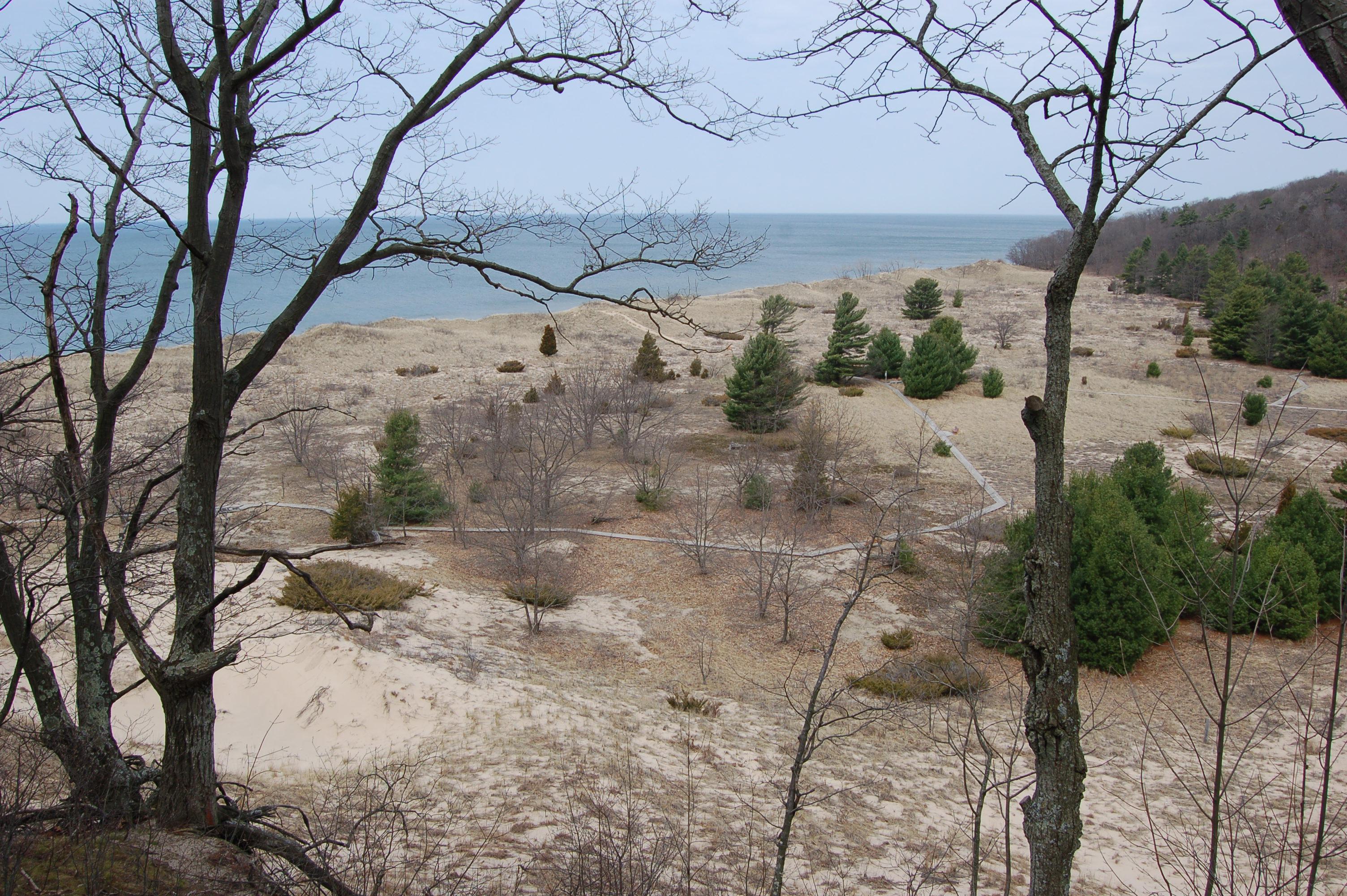 Rosy Mound Lake Michigan View