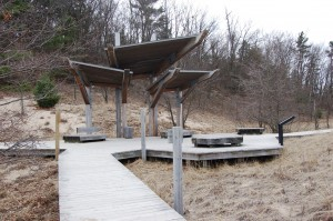Rosy Mound Shelter Boardwalk