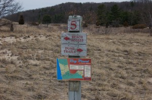 Rosy Mound Trail Signs