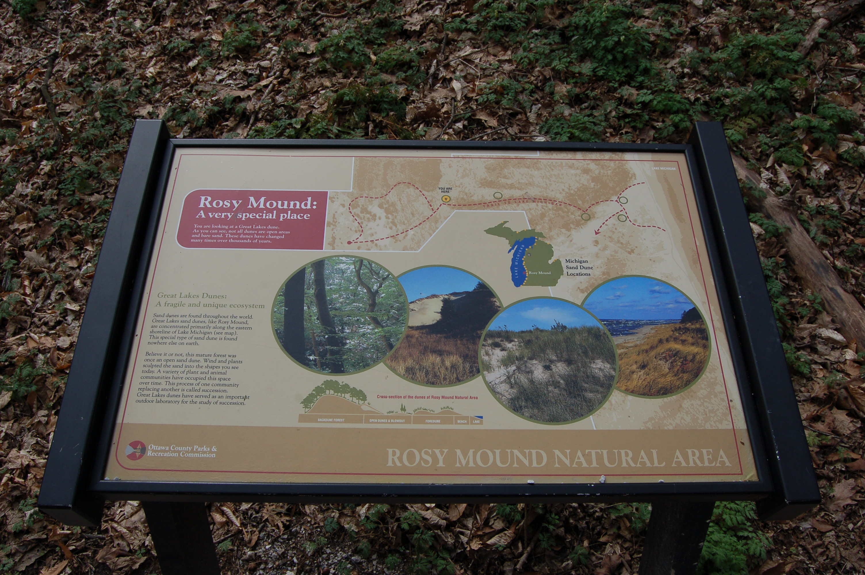 Rosy Mound info Sign 2
