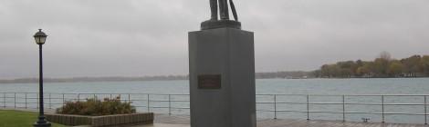 Michigan Roadside Attractions: The Spirit of Algonac Sculpture