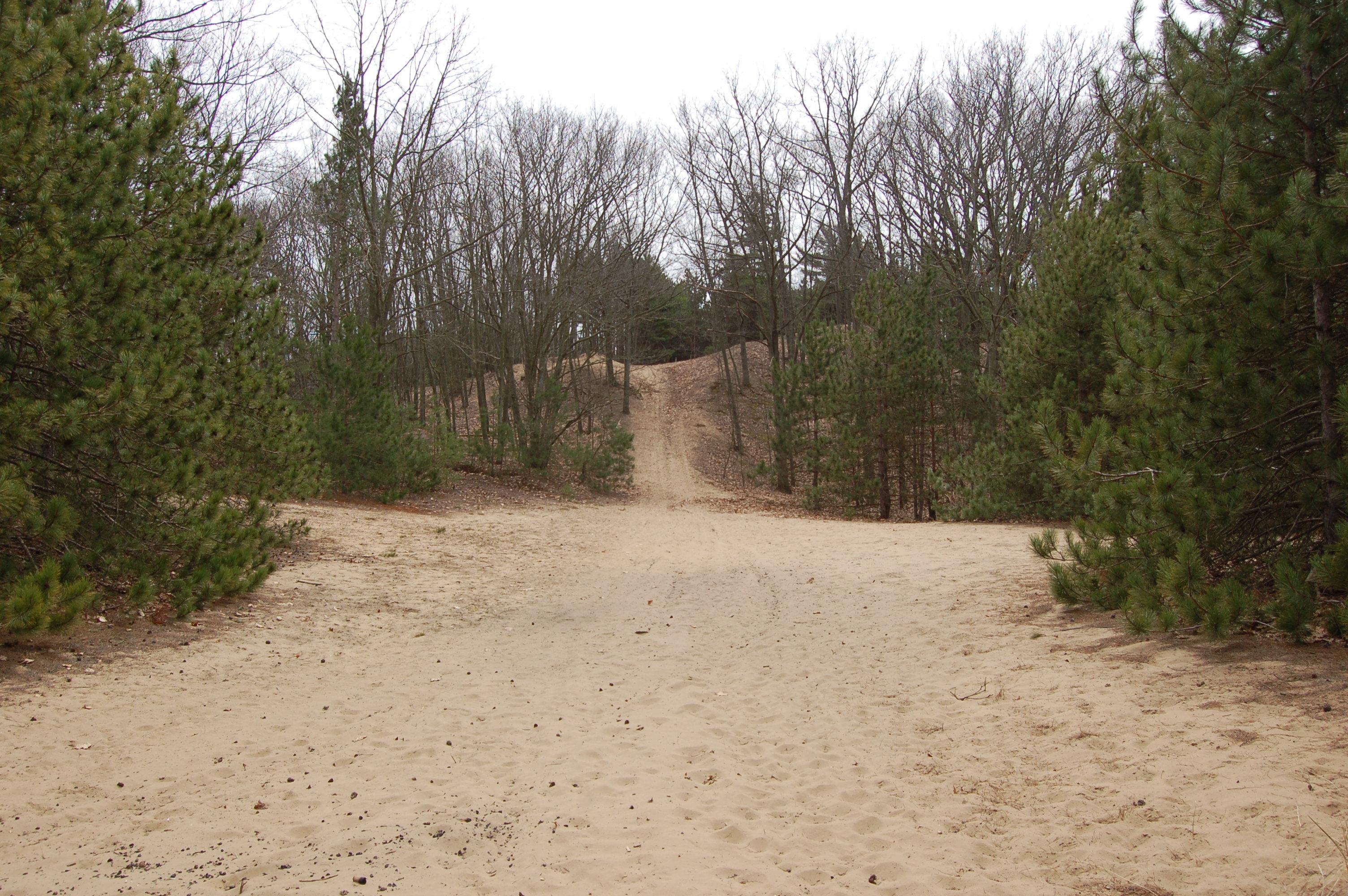 Van Buren Street Dunes Hill Climb
