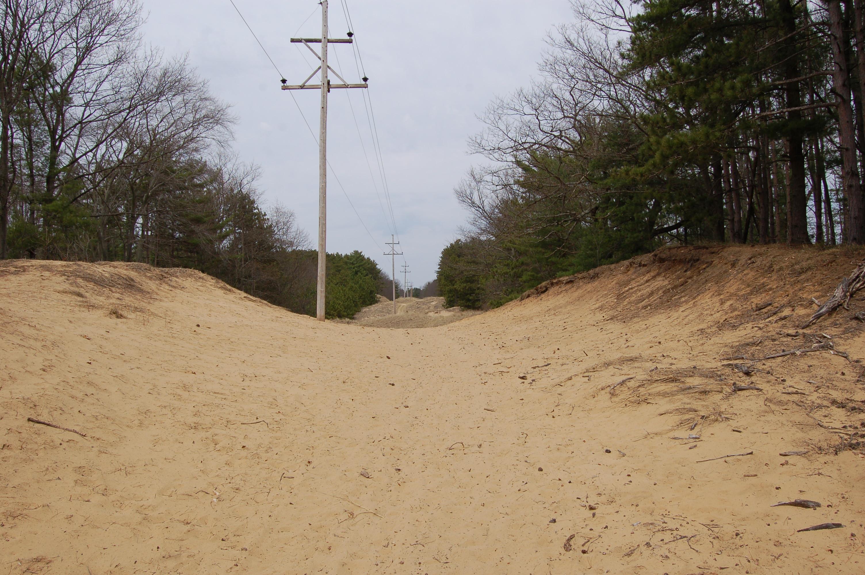Van Buren Street Dunes Sand