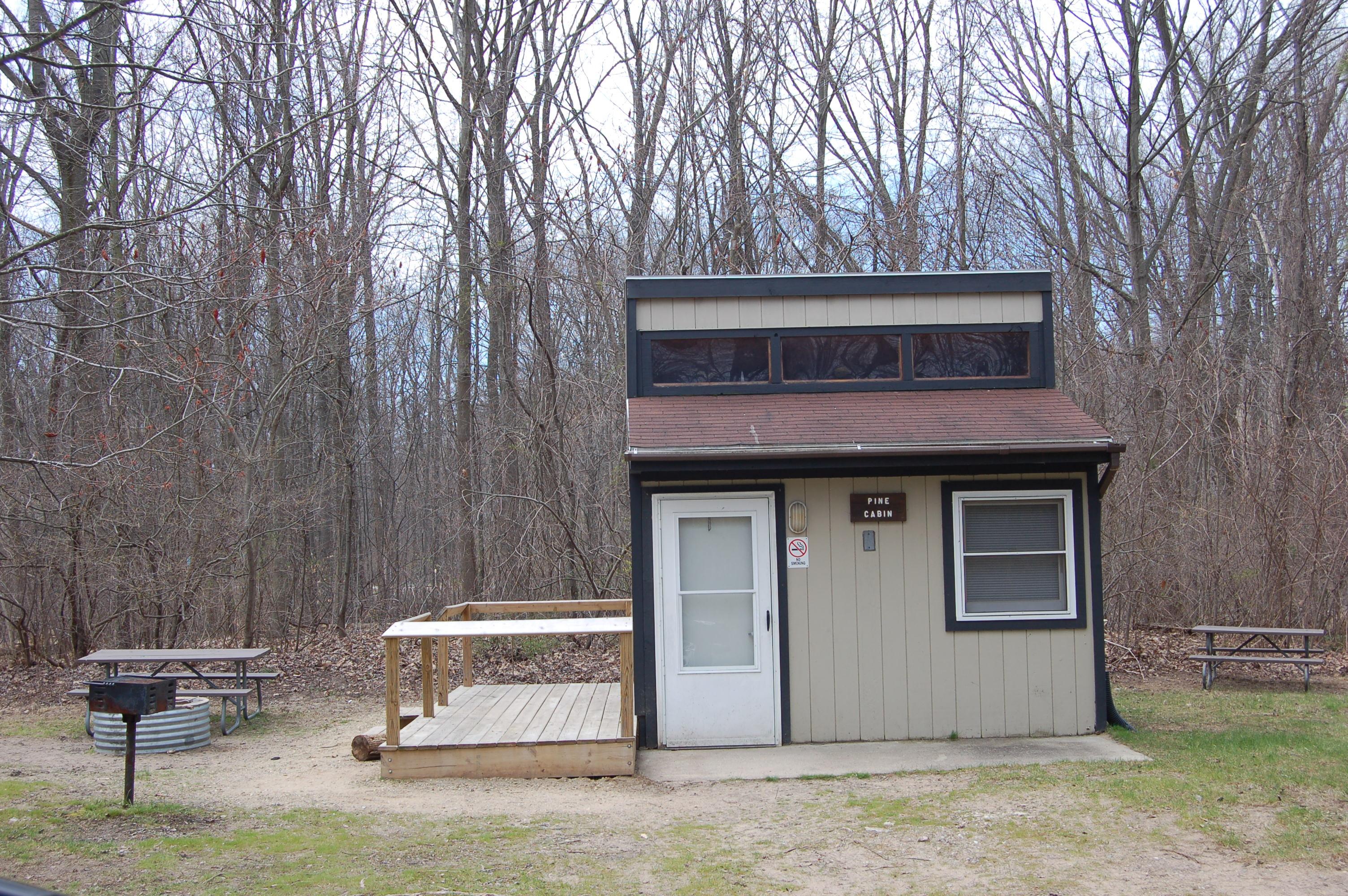 Warren Dunes State Park Cabin 1