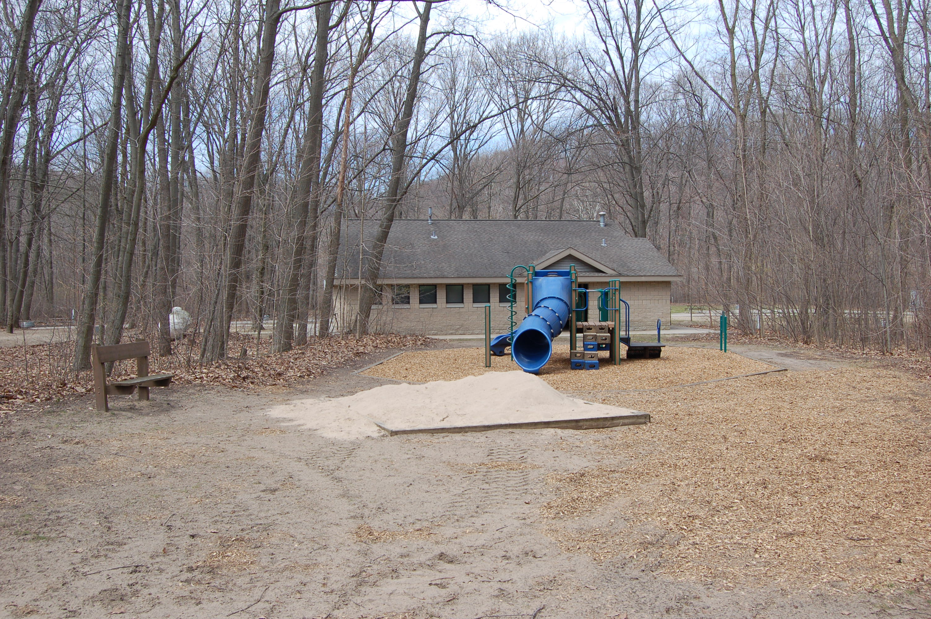 Warren Dunes State Park Campground Playground