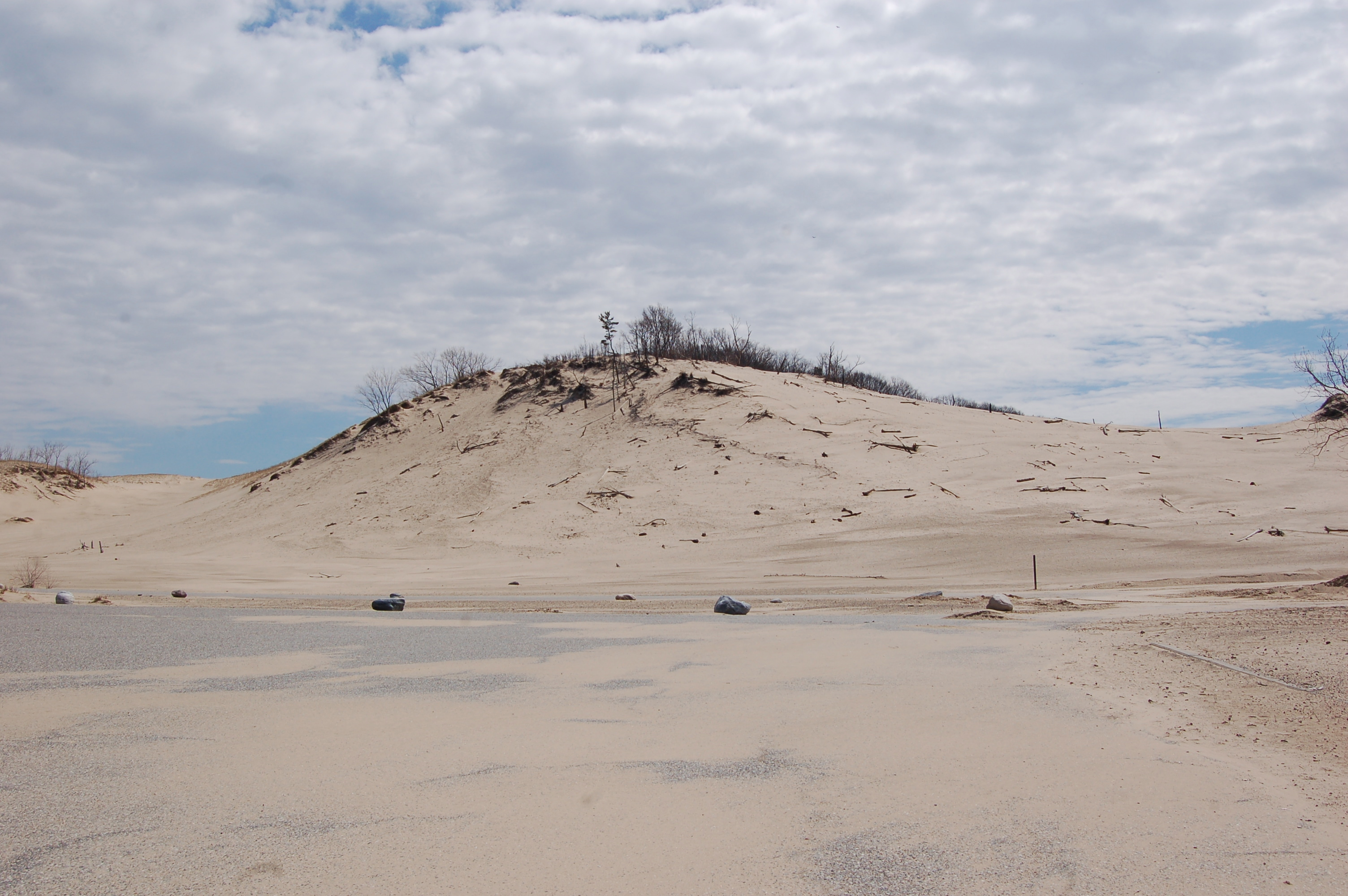 Warren Dunes State Park Dunes Parking Lot