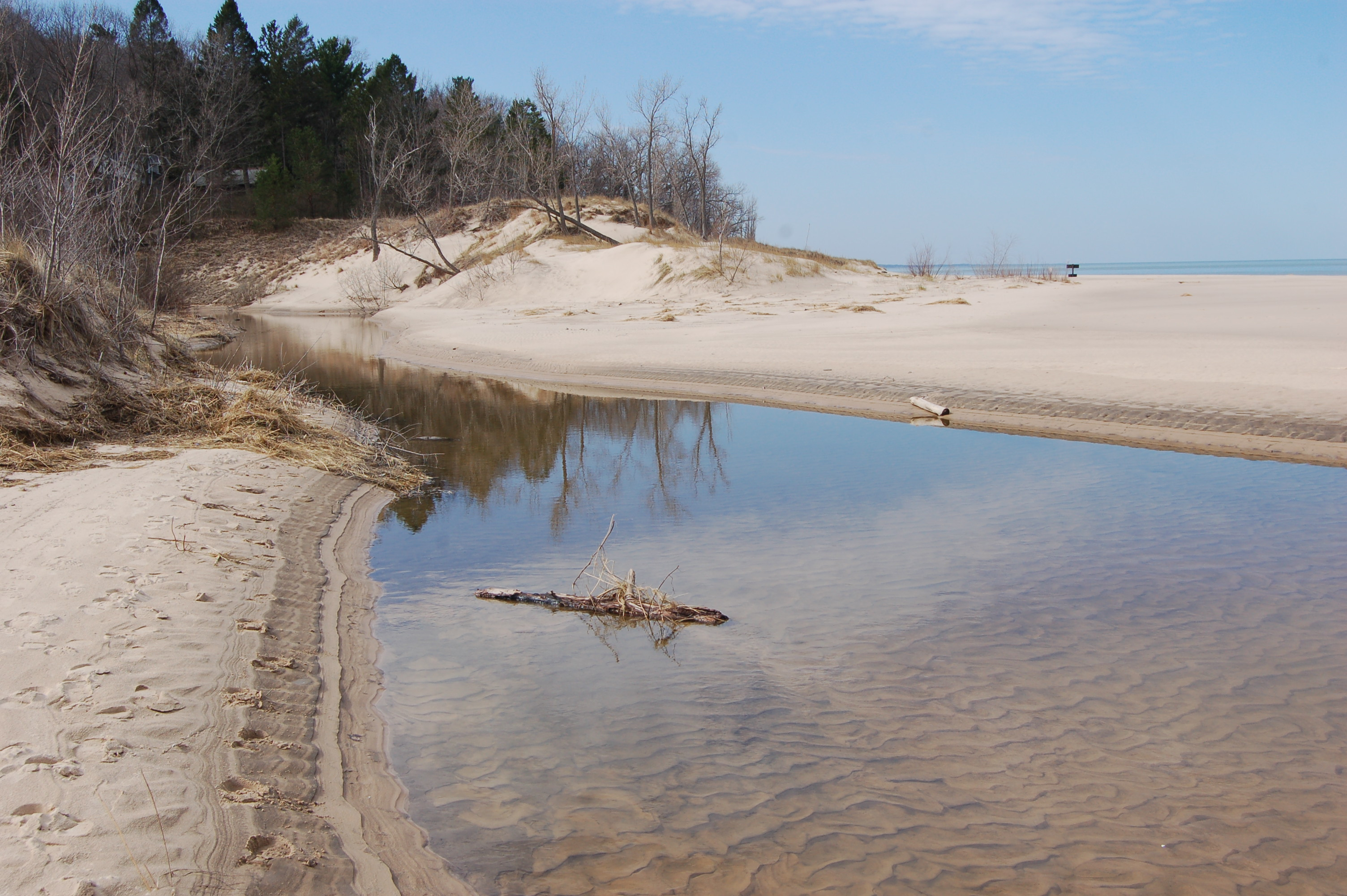 Warren Dunes State Park Painterville Creek