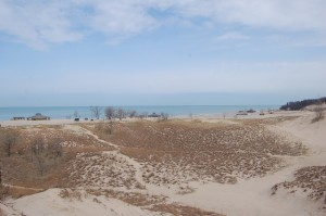 Warren Dunes State Park Top View