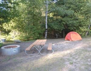 Cheboygan State Park MI Camp