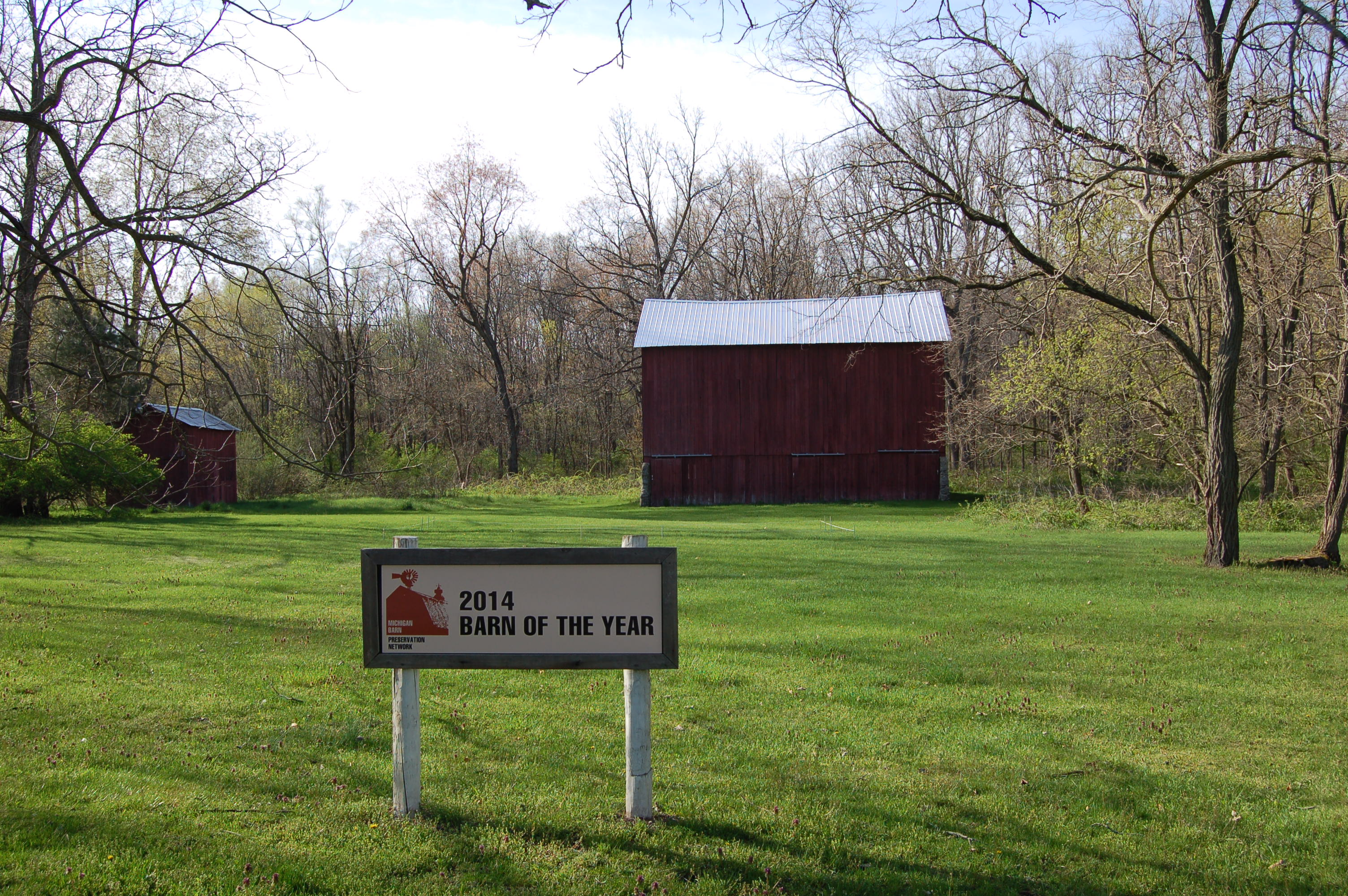 Fallasburg Michigan Barn of the Year