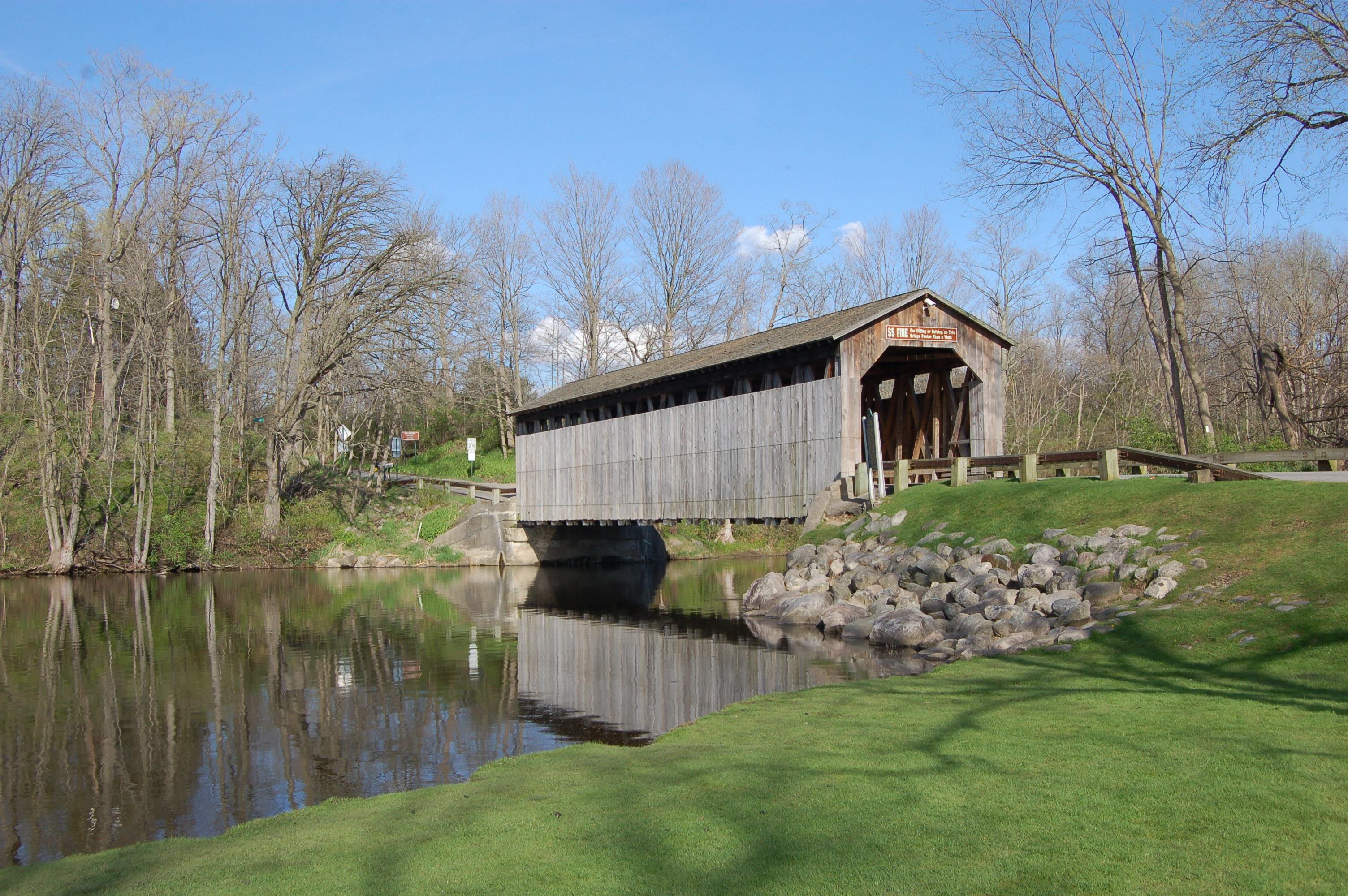 Fallasburg Park Covered Bridge Lowell