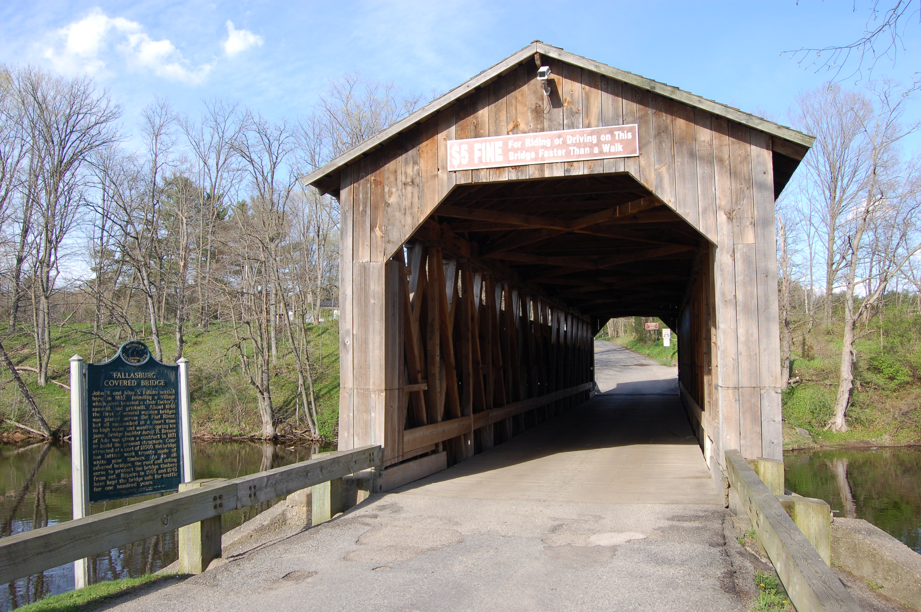Fallasburg Park Covered Bridge NCT