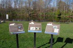 Fallasburg Park Historical Signs