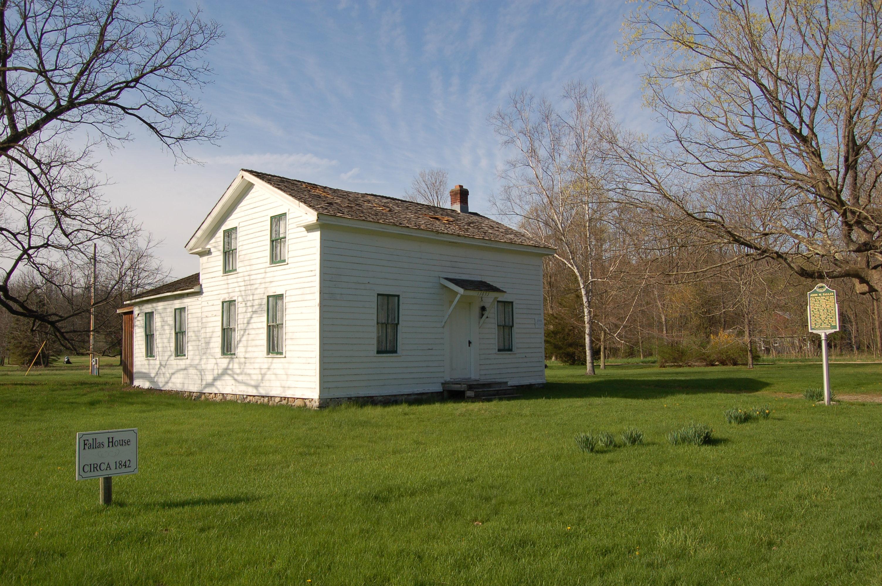 John W. Fallas House Lowell
