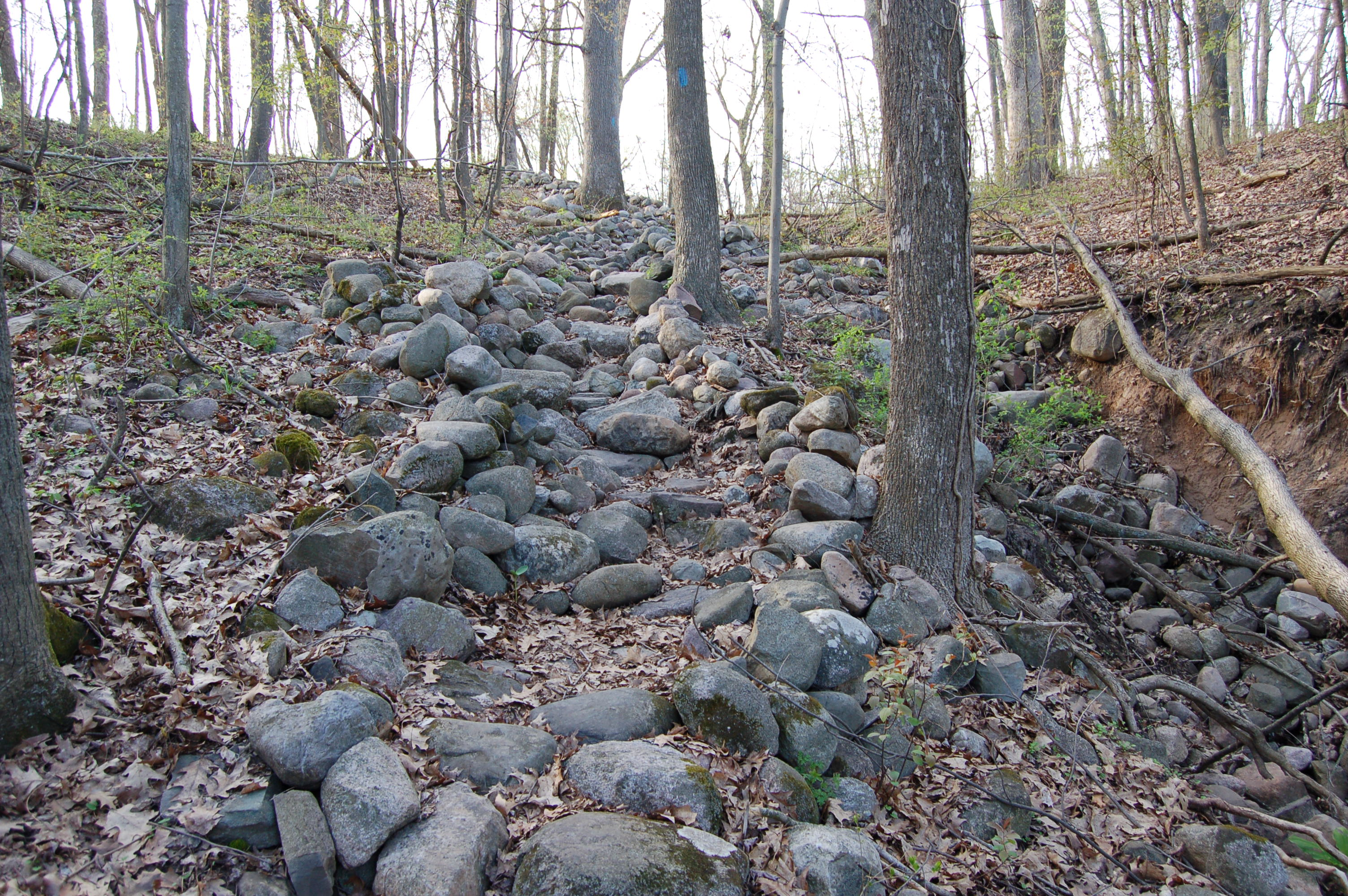 North Country Trail Rock Garden Lowell