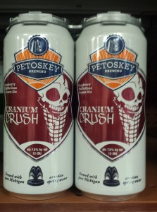 Petoskey Brewing Cranium Crush