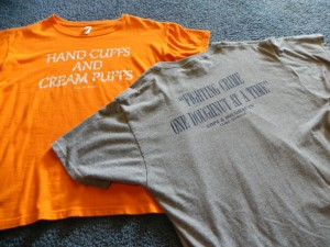 T-Shirts purchased at Cops and Doughnuts