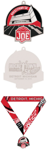 Hockeytown 5K Finishers Medal