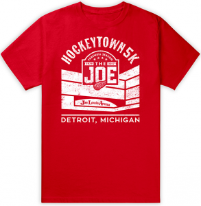 Hockeytown 5K Shirt