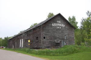 Bay Mills Granary Building Michigan