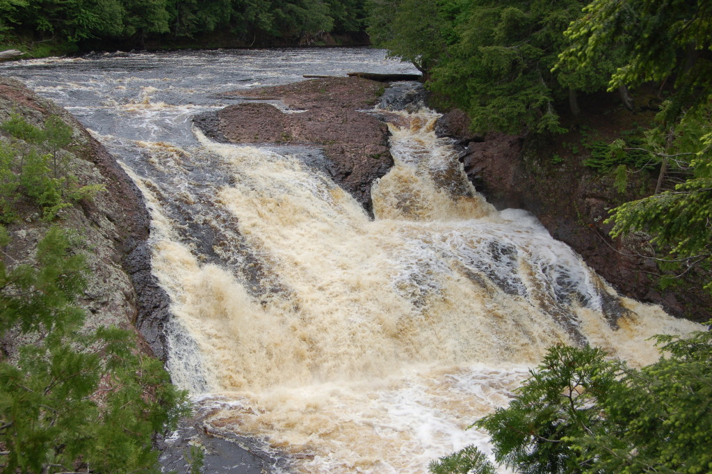 Black River Scenic Byway Conglomerate Falls 1