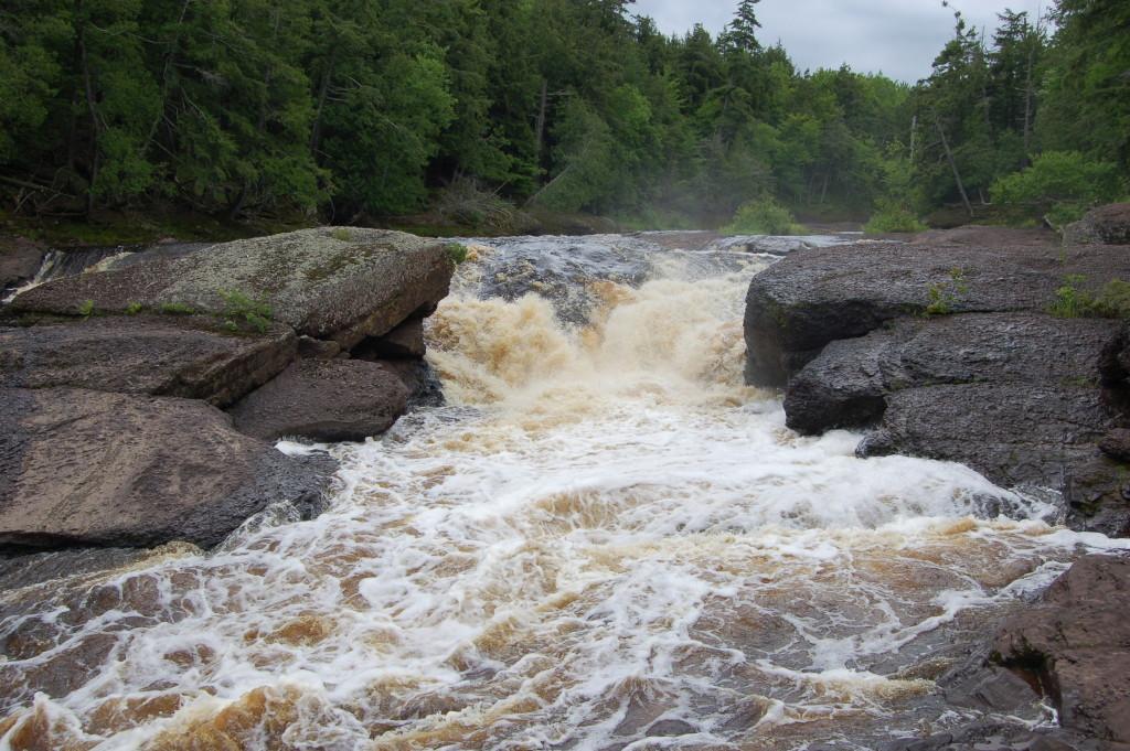 Black River Scenic Byway Sandstone Falls
