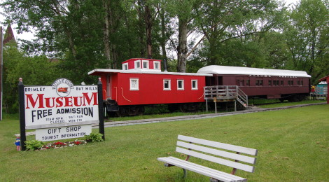 Michigan Roadside Attractions: Wheels of History Museum, Bay Mills - Brimley