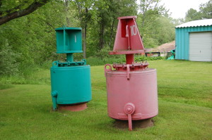 Buoys Museum Bay Mills Brimley