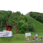 Michigan Roadside Attractions: Copper Peak Ski Flying Hill, Ironwood