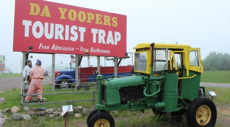 Michigan Roadside Attractions: Da Yoopers Tourist Trap in Ishpeming