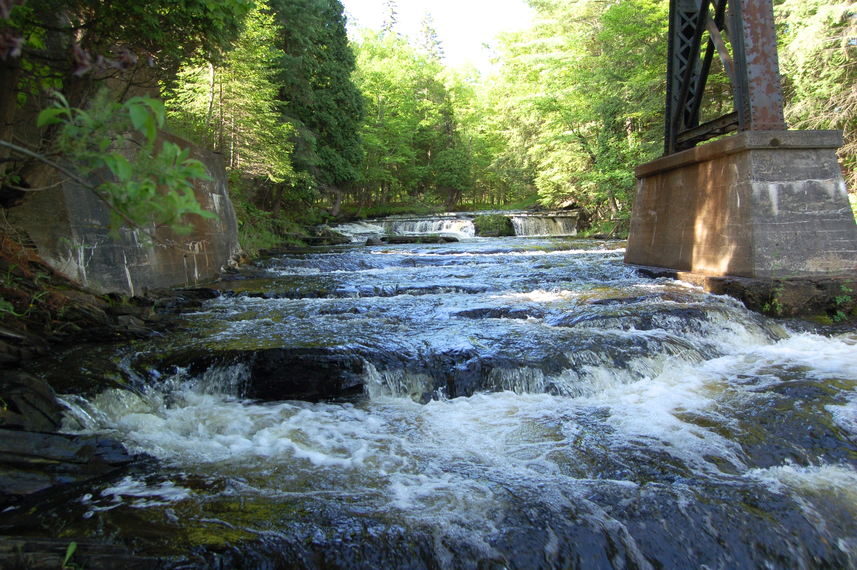 Falls River unnamed falls
