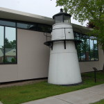 Michigan Roadside Attractions: Frying Pan Island Light, Sault Ste. Marie