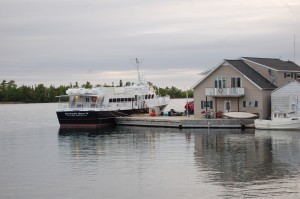 Isle Royale Ferry Copper Harbor MI