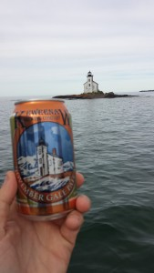 Keweenaw Brewing Company Gull Rock Lighthouse