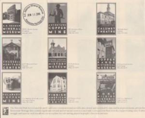 Keweenaw Stamp Album