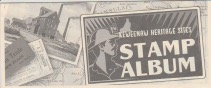 Keweenaw Stamp Album Cover