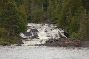 Lower Montreal River Falls Sand Point Charters