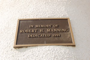 Robert H. Manning Lighthouse Plaque