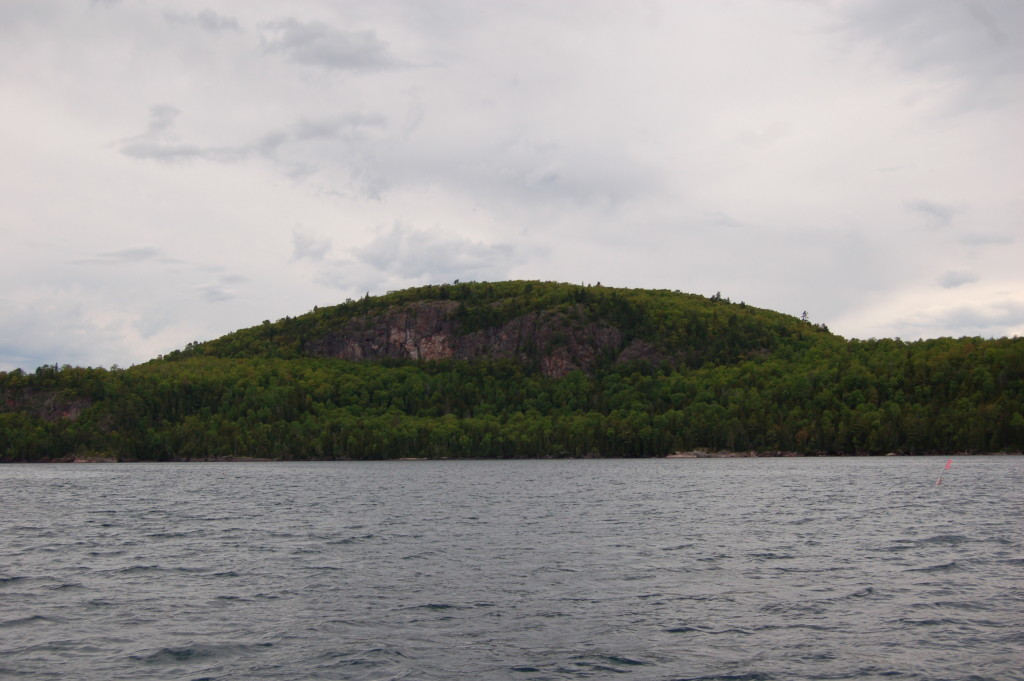Bare Bluff from a distance