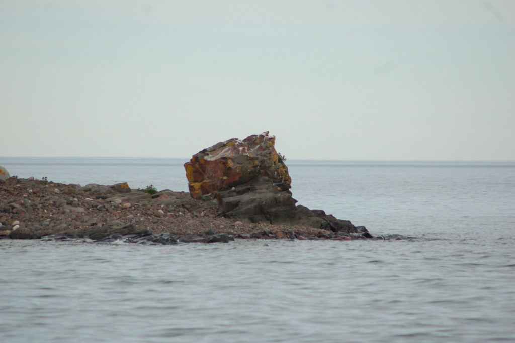 Gull Rock, Lake Superior