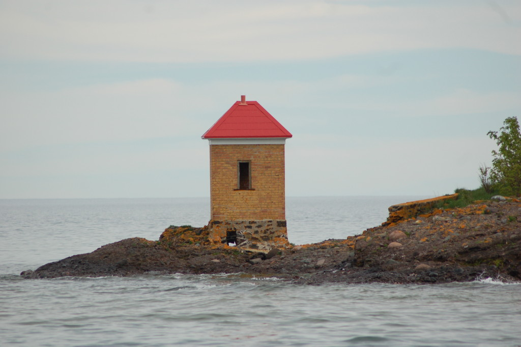Gull Rock outhouse
