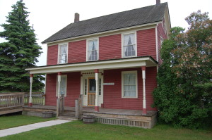 Sault Ste. Marie Historic Water Street Baraga House