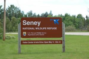 Seney National Wildlife Refuge Entrance Sign