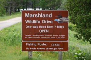 Seney National Wildlife Refuge MI Marshland Wildlife Drive